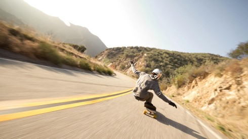 Longboarding-Wallpaper