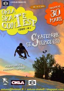 OKLA skate contest
