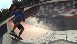 Gabriel Viking for Warriors skateboards
