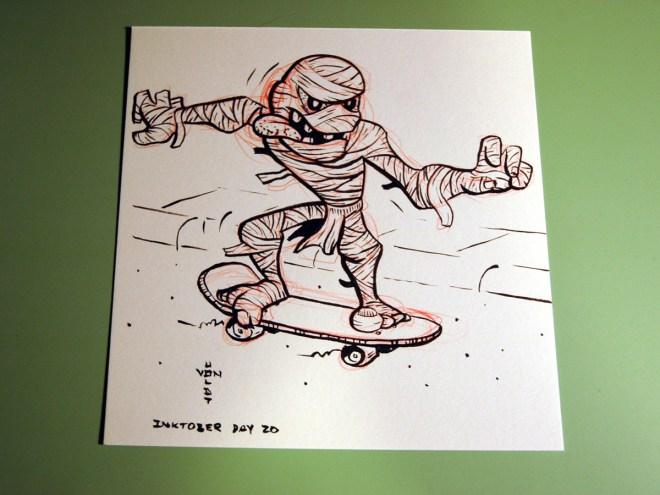 Mummy Skater